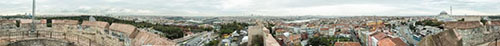 Istanbul City Wall Panorama